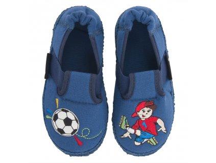 Nanga Fussballer blau - Papuče