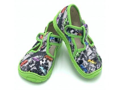 Fare Bare Zelené - Papuče