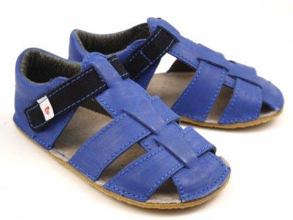 EF Barefoot Modré - Sandálky