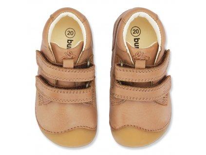 Bundgaard Petit Velcro Caramel WS - Celoročné topánky