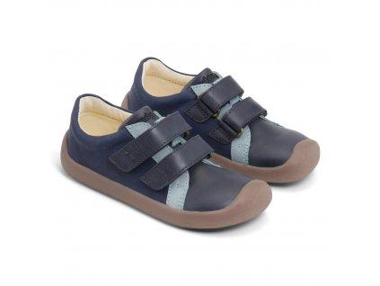 Bundgaard The Walker Velcro Navy - Celoročné topánky