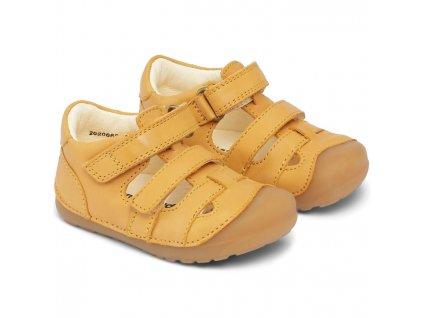 Bundgaard Petit Sandal Yellow - Sandálky
