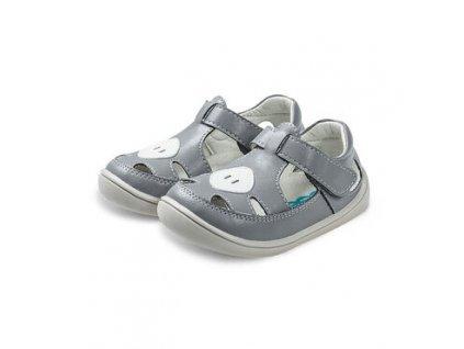 Little Blue Lamb Pady Grey - Sandálky