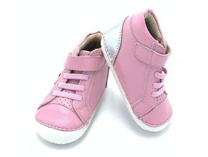 Old Soles Champster Pave Pink/Silver/Glam - Celoročné topánky