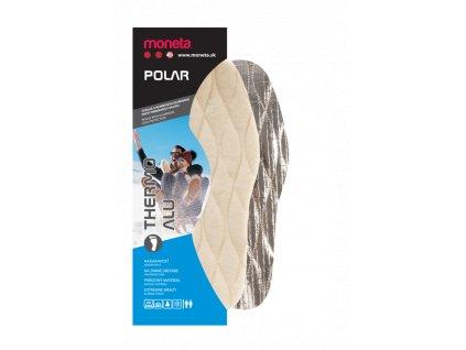 Moneta Polar Thermo Alu - Zimné vložky do topánok, veľ.37-47