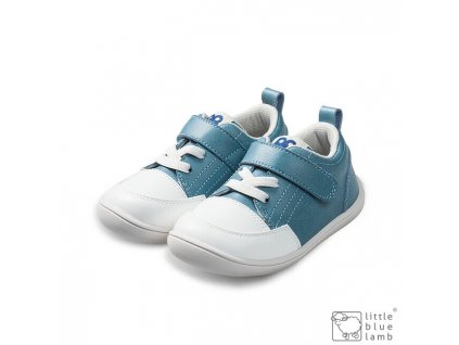 Little Blue Lamb Baby Pastel Blue - Celoročné topánky