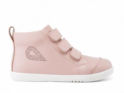 Bobux I Walk/Kid+ Hi Court Seashell - Celoročné topánky