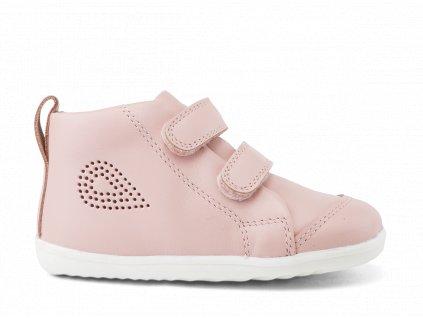 Bobux Step Up Hi Court Seashell - Celoročné topánky