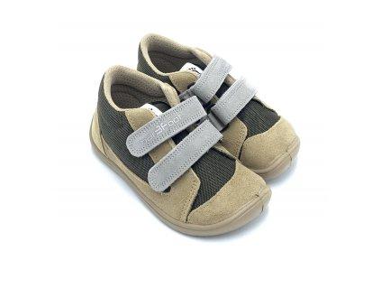 3F Barefoot Tmavomodré - Celoročné topánky