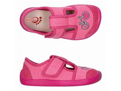 3F Barefoot Ružové 3BE3/5 -  Papuče