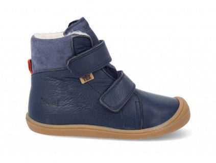 KOEL4kids Bart Nappa Wool Blue - Zimné topánky