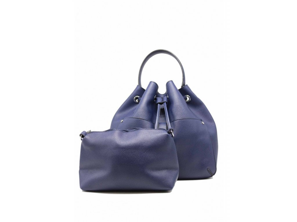 Kabelka Grained Leather Blue
