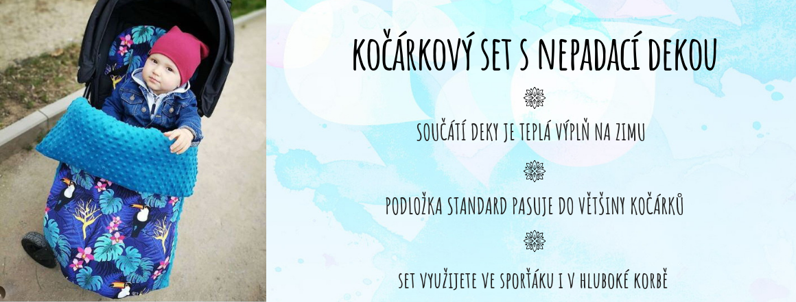 Set do kočárku.