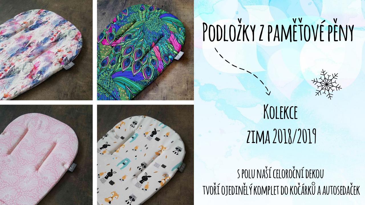 Podložky a deky nové designy 2018/2019