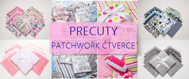 Precuty - patchwork čtverce