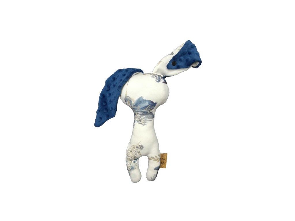 Oskar labutě / modré dot minky