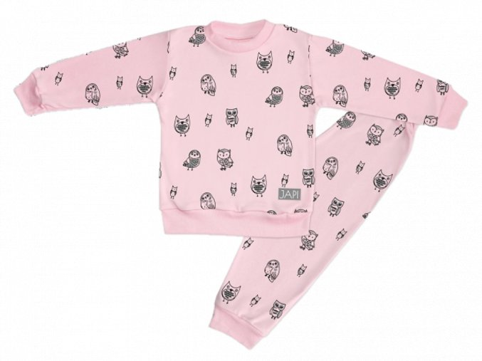 pyžamo sovy