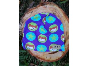 Čepice tenká - lišky fialové