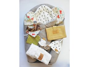 Newborn set pro miminko lišky - neutral