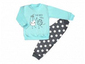 pyžamo tyrkys