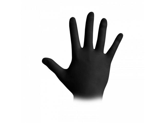 rukavice cerna
