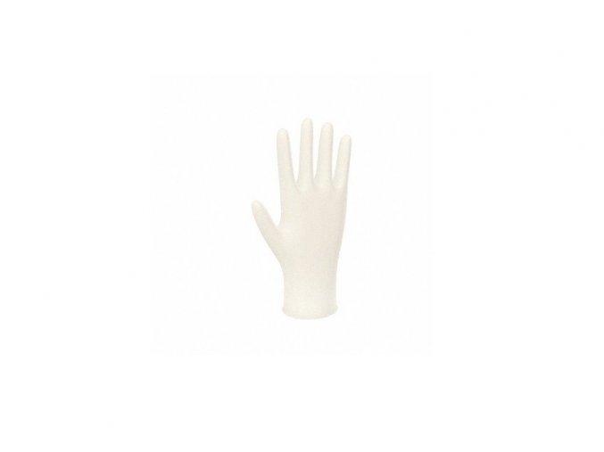 rukavice bile