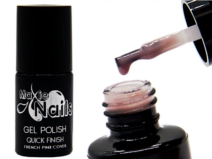 GEL POLISH QUICK FINISH French pink cover