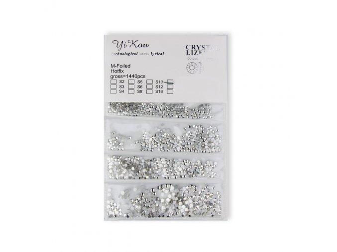 ozdoby do paznokci zestaw cyrkonii 1440 szt crystal