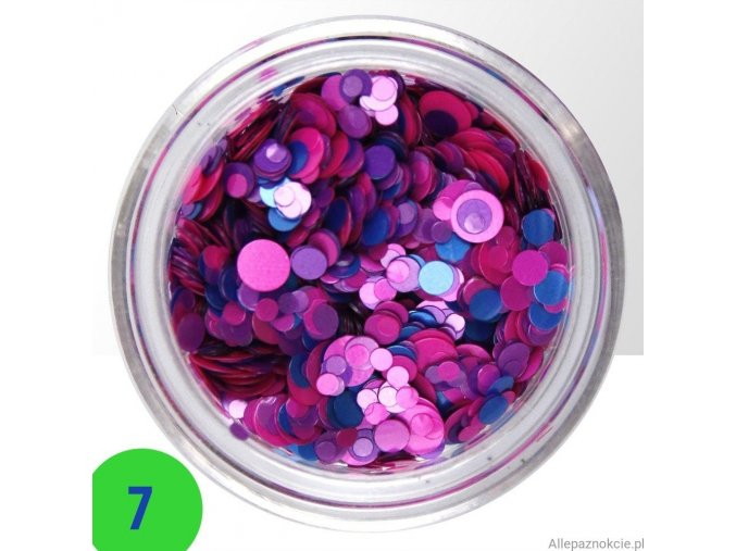 7 confetti mix