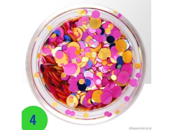 4 confetti mix