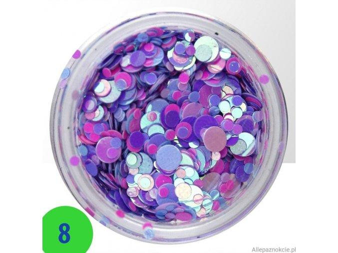 8 confetti mix
