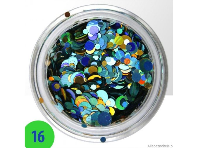 16 confetti mix