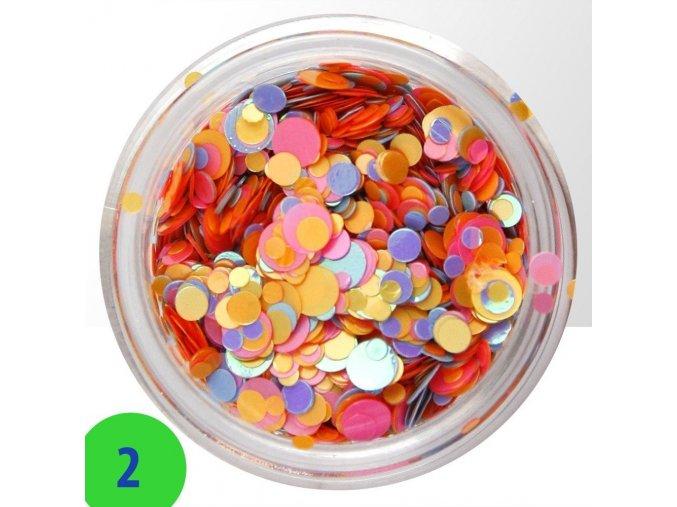 2 confetti mix
