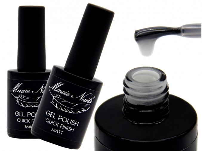 GEL POLISH QUICK FINISF MATT hubená