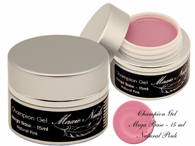 Champion Gel Mega Base Natural pink 15ml