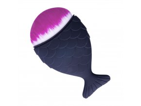 pedzel rybka chubby mermaid brush kolor matte black