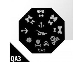 blaszka ze wzorkami do stempli qa3