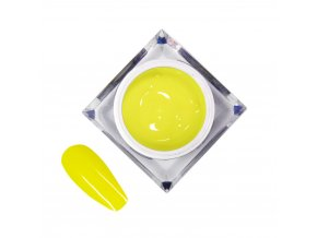 zel kolorowy do zdobien artistic gel mollylac art yellow zolty 5 ml nr 17