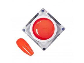 zel kolorowy do zdobien artistic gel mollylac art shocking red 5 ml nr 22