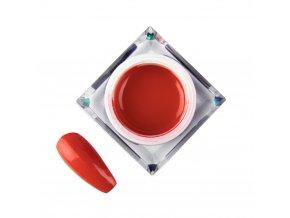 zel kolorowy do zdobien artistic gel mollylac art red czerwony 5 ml nr 5
