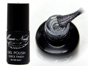 GEL POLISH quick Finish SILVER DUST