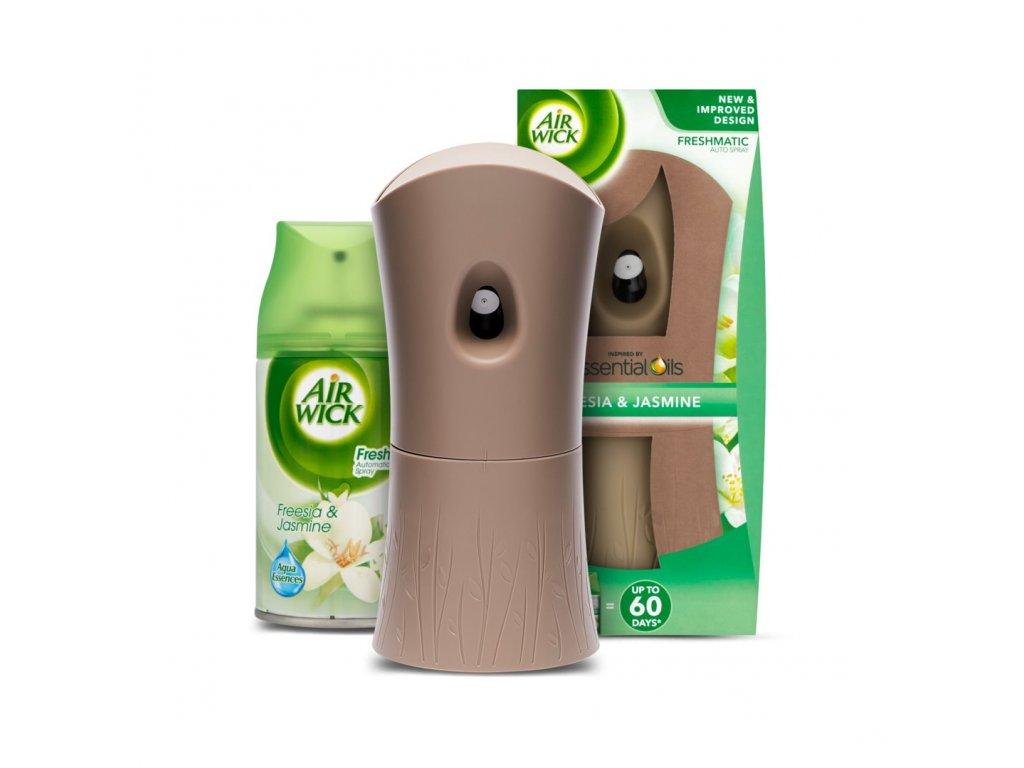 air wick automaticky spray komplet bile kvety frezie 250 ml ien342458