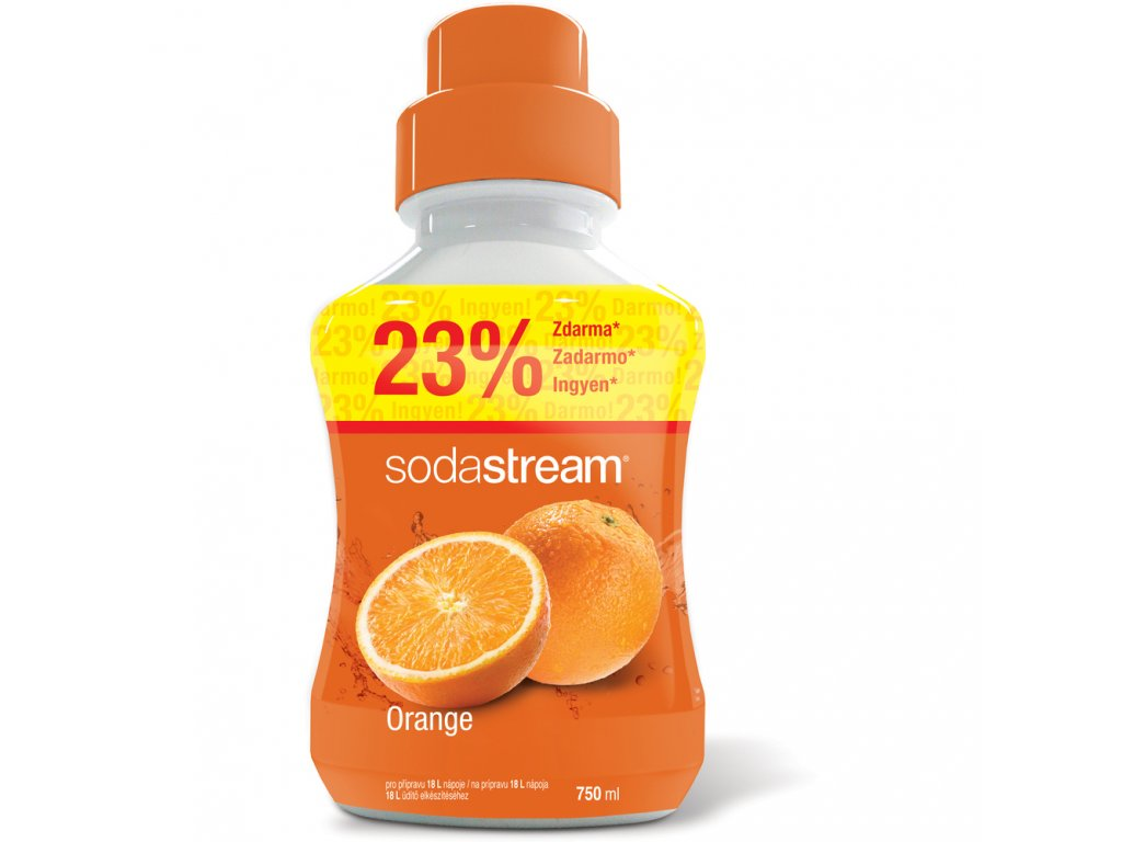 Příchuť Orange 750 ml SODASTREAM