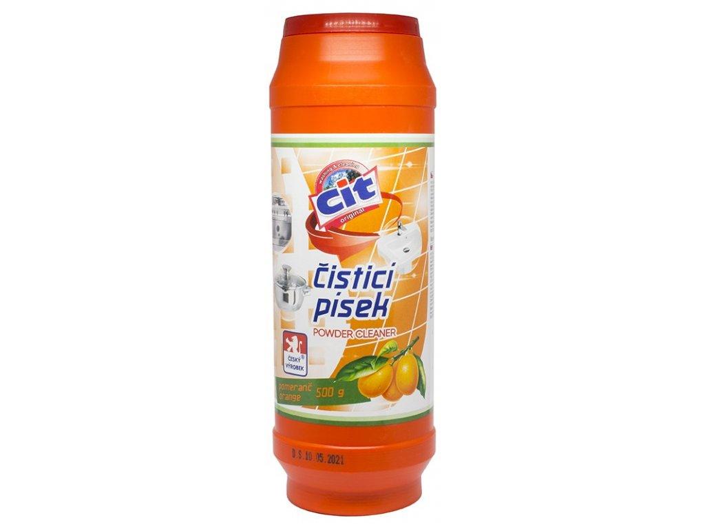 Cit čistící prášek 500 g Pomeranč a mango