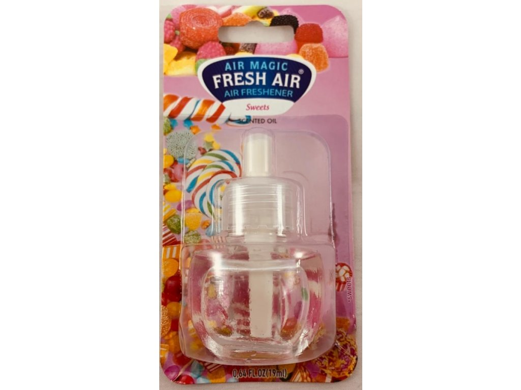 Fresh Air Electric náplň 19ml - Sweets
