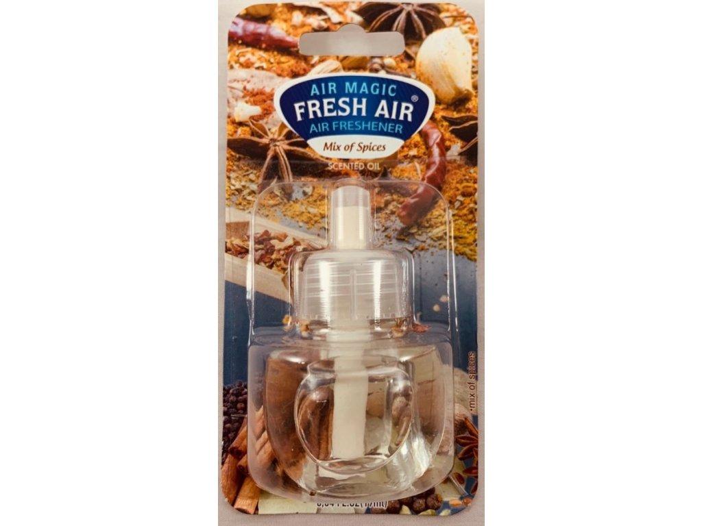 Fresh Air Electric náplň 19ml - Svět koření
