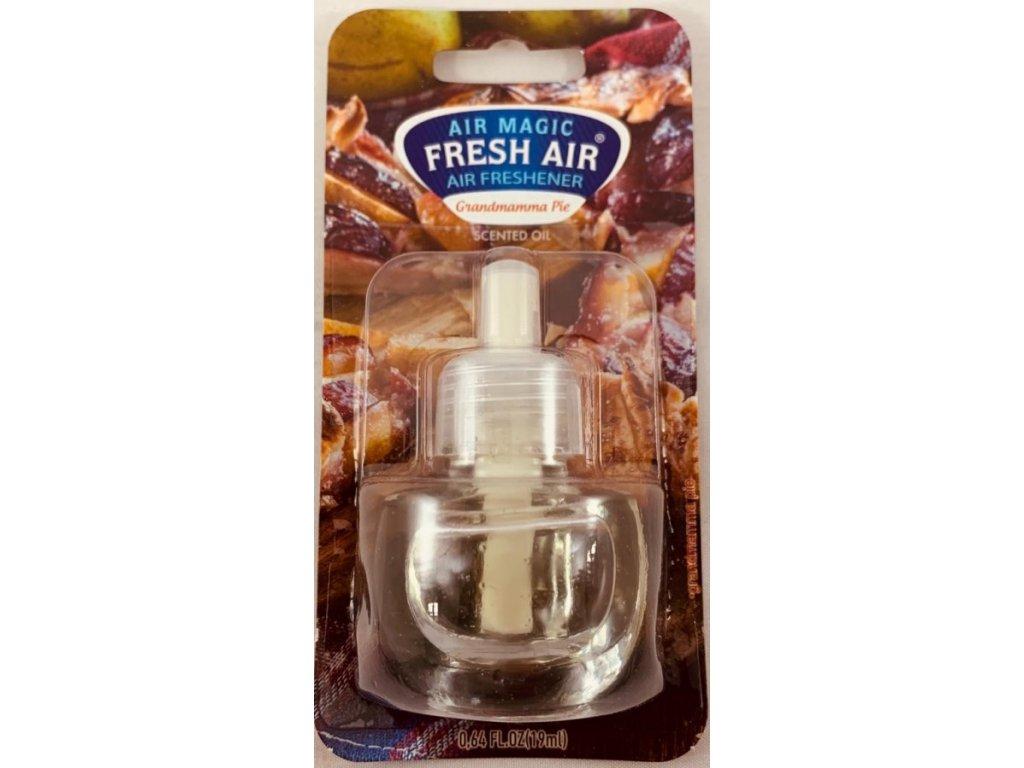 Fresh Air Electric náplň 19ml - Babiččin koláč