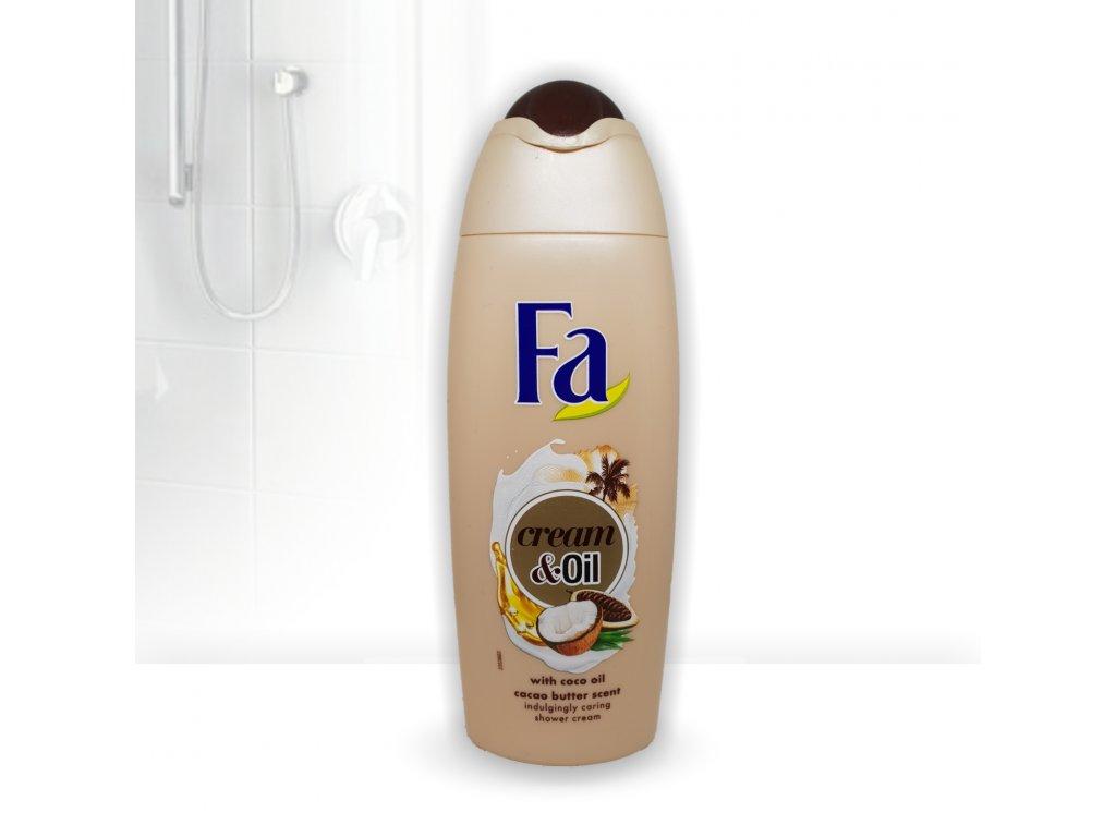 FA 250ml Cream oil s kokosovým olejem