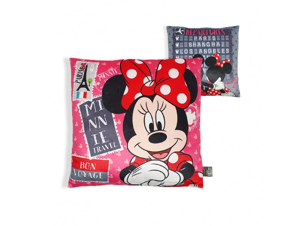 Dětský plyšový polštářek Minnie
