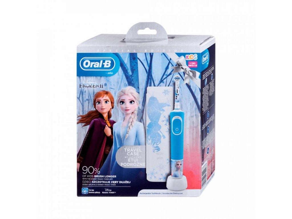 Oral-B Vitality Kids Frozen II + Cestovní Pouzdro